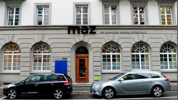MAZ – Die Schweizer Journalistenschule in Luzern.