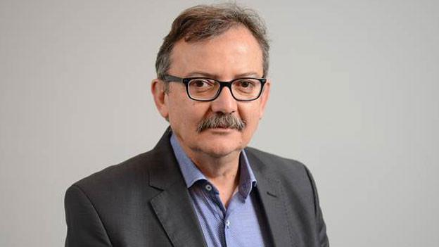 Diego Yanez, ehemals Nahostkorrespondent und Chefredaktor des Schweizer Fernsehens. Heute ist er Direktor der Schweizer Journalistenschule MAZ.
