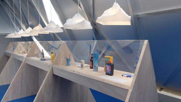 Matterhorn Mania: Bereits zum zweiten Mal bespielt das Alpine Museum der Schweiz den Shelter auf dem Gornergrat. Dieses Mal mit Matterhorn-Produkten aus der ganzen Welt.