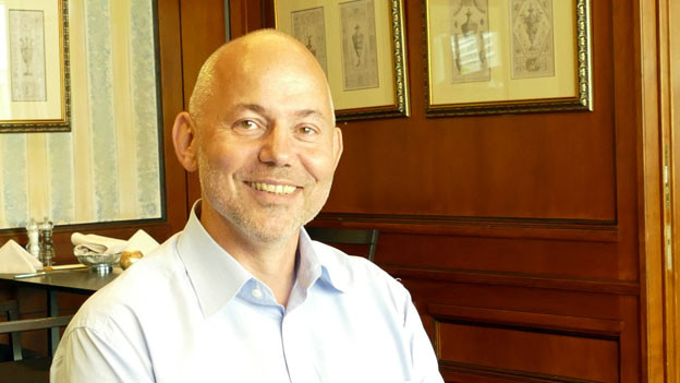Bernard Raemy, Direktor des Hotels «Bären» in Langenthal. «Die Sterne sind für uns wichtig», sagt Bernard Raemy.