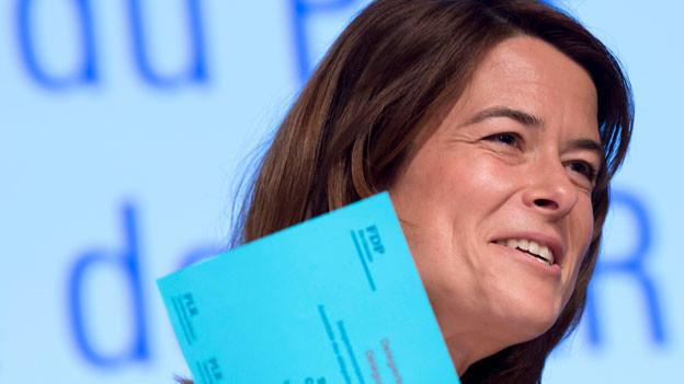 FDP-Parteipräsidentin Petra Goessi