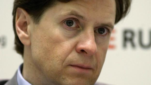 Der russische Ex-Banker Andrei Borodin.