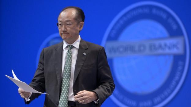 Die Schweiz feiert 25 Jahre Beitritt zur Weltbank.