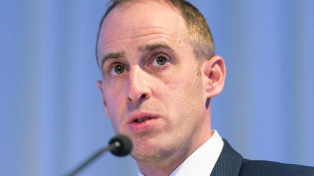 Stephan Widrig, CEO Flughafen Zürich.
