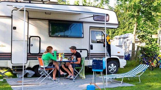 Die Campingplätze in der Schweiz sind so gut besucht wie noch nie.