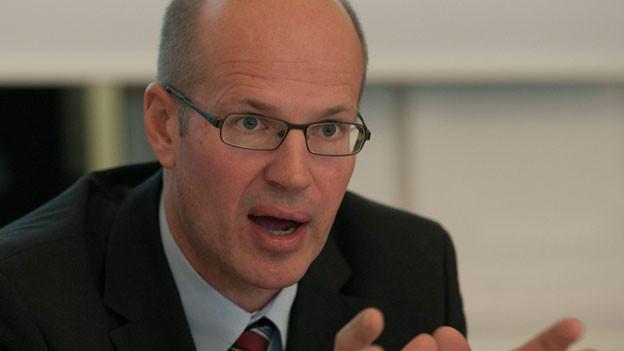 Dirk Stahl, Direktor BLS Cargo. Bild von 2011.