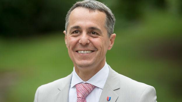 Ignazio Cassis, der Bewerber aus dem Tessin.