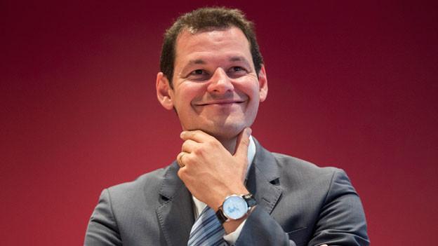 Der FDP Bundesratskandidat Pierre Maudet.