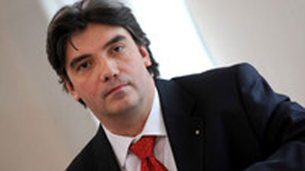 Luca Albertoni, Direktor der Tessiner Handelskammer