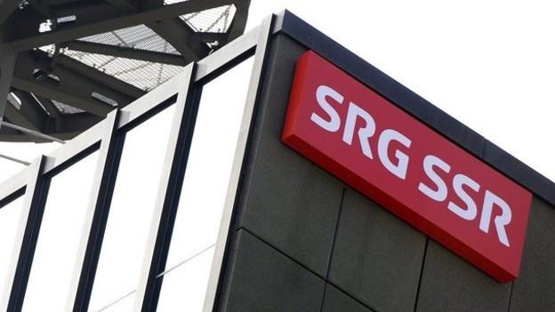 Man sieht ein Gebäude der SRG