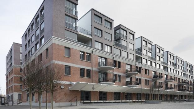 Die Siedlung Freilager Zürich ist nach Minergie-Standards gebaut (Symbolbild).