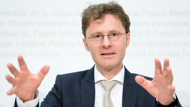 Daniel Lampart, Chefökonom Schweizerischer Gewerkschaftsbund.