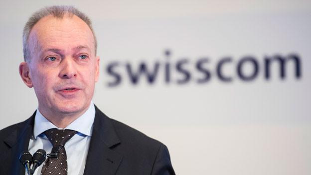 Urs Schaeppi, CEO Swisscom.