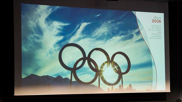 Olympiakandidatur Sion 2026.
