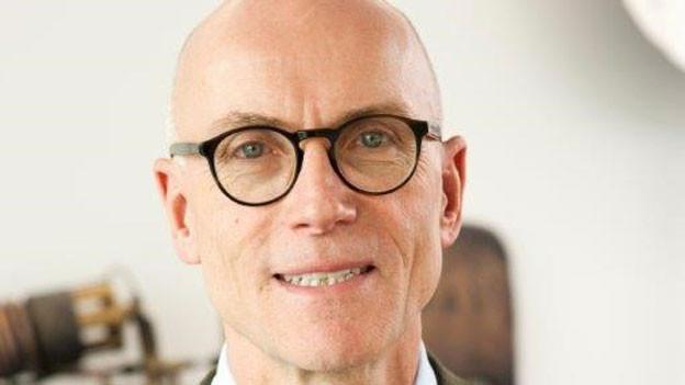 Walo Bertschinger, Patron der Firma Walo Bertschinger AG.