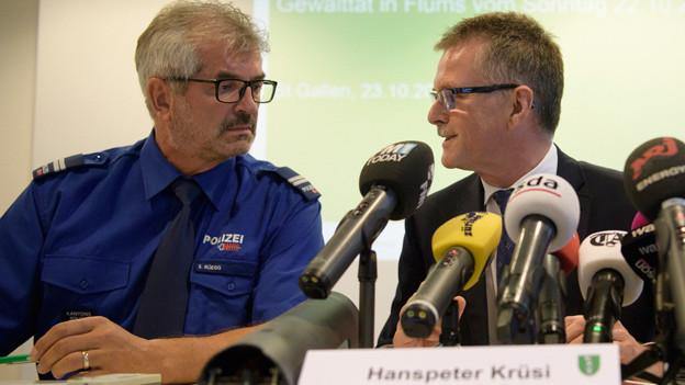 Sigi Rüegg und Hanspeter Krüsi.