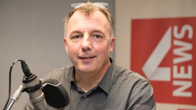 Auf dem Bild zu sehen ist SRF 4 News-Programmleiter Michael Bolliger