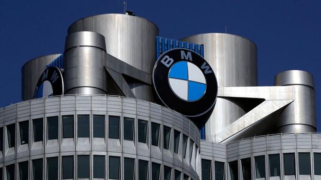 BMW-Fabrik in München.
