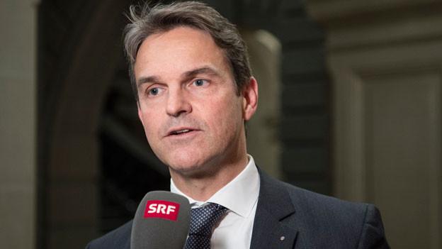 Beat Walti, Fraktionspräsident der FDP.