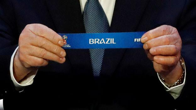 Brasilien, Costa Rica und Serbien: Dies sind die Gruppengegner der Schweiz an der Fussball-Weltmeisterschaft im Juni 2018 in Russland. .