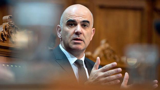 Alain Berset der neue Bundespräsident.
