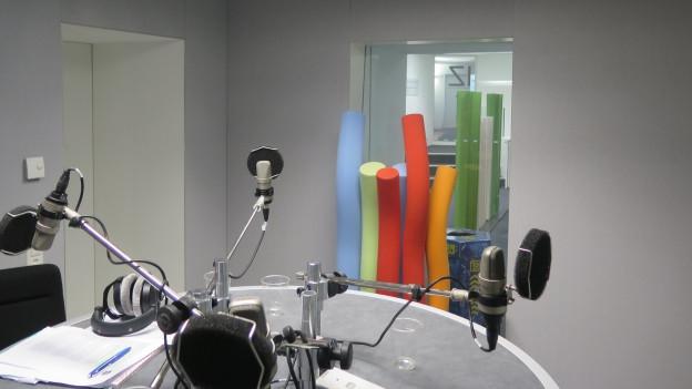 Das Studio von SRF4News