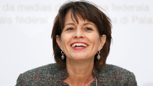 Doris Leuthard im Dezember 2017.