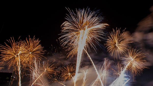 Symbolbild Feuerwerk.