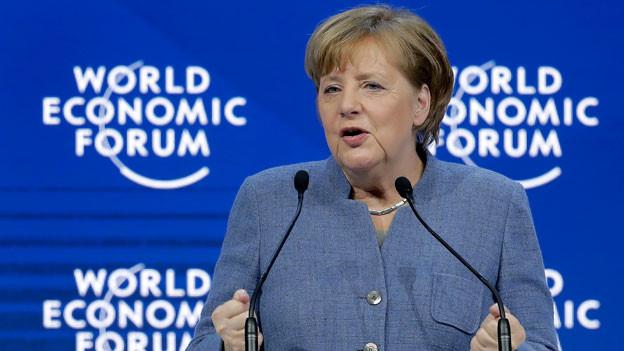 Die deutsche Bundeskanzlerin Angela Merkel.