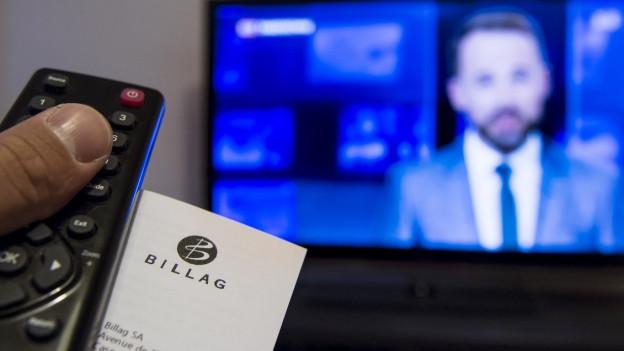 Eine Initiative will die Billaggebühren für den Radio- und Fernsehempfang abschaffen.