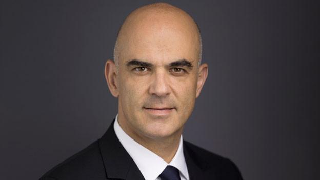 Bundespräsident Alain Berset.