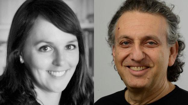 Ron Halbright, Vereinspräsident von «Männer an die Primarschule» und Christa Kappler, Dozentin an der Pädagogischen Hochschule Zürich.