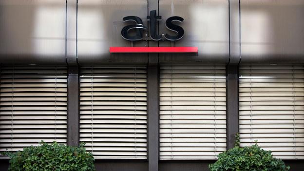 Das Logo der SDA (ATS).