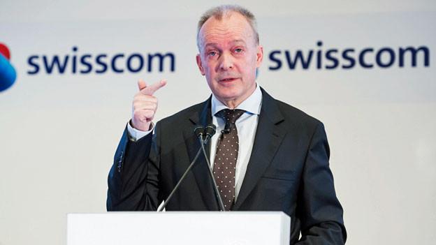 Urs Schäppi, CEO von Swisscom