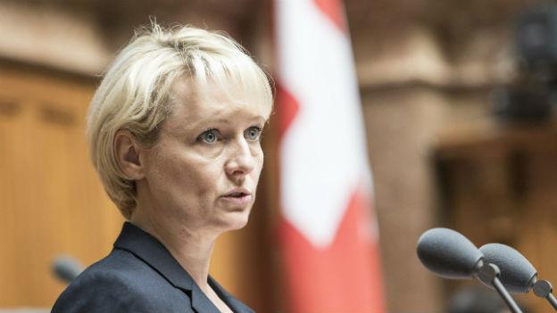 FDP Nationalrätin Isabelle Moret