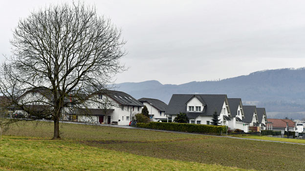 Das Spitzbirrli-Quartier in Rupperswil.