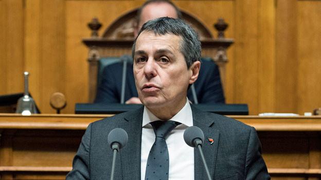 Der Schweizer Aussenminister Ignazio Cassis.
