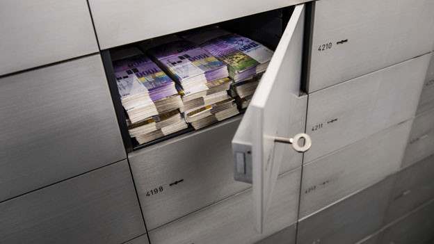 Bei Banken, die von der FINMA bewilligt worden sind, besteht im Konkursverfahren ein Einlegerschutz bis zum Maximalbetrag von 100'000 Schweizer Franken.