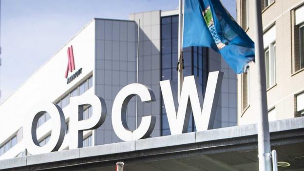 Das OPCW-Hauptquartier in den Niederlanden.