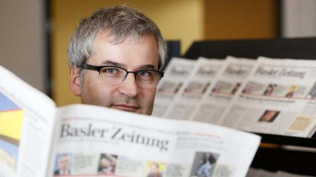Der scheidende BaZ-Chefredaktor Markus Somm.