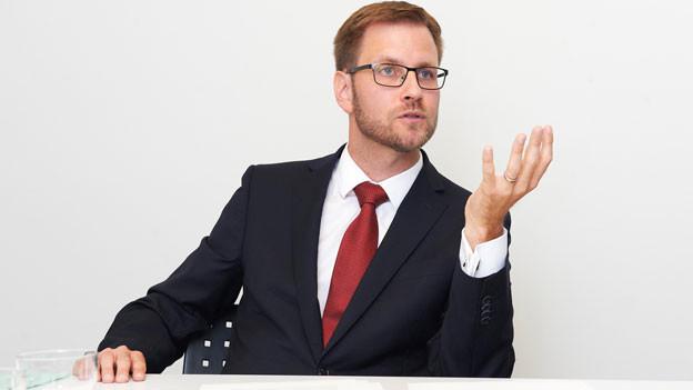 Patrick Guidon, Präsident der Schweizerischen Vereinigung der Richterinnen und Richter.