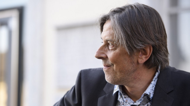 Pedro Lenz an den Solothurner Literaturtagen.