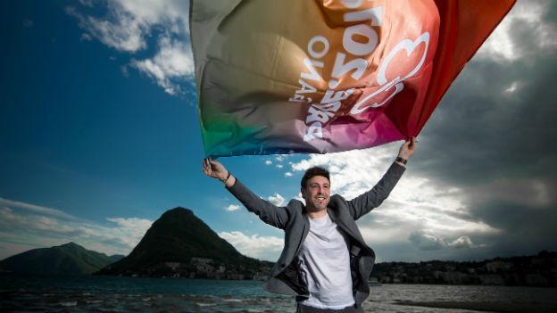 Mattia Modini von der Pride-Veranstaltergruppe