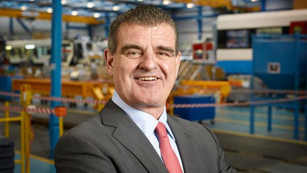 Peter Spuhler, Verwaltungsratspräsident Stadler Rail.