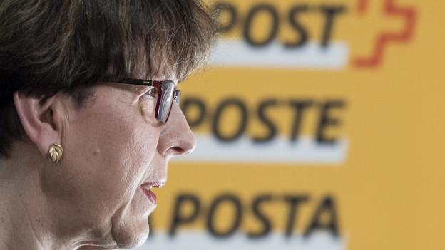 Post-Chefin Susanne Ruoff.