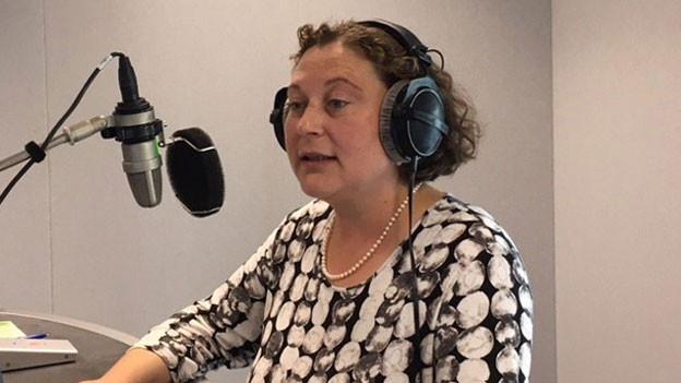 Judith Wipfler, reformierte Theologin und Leiterin Religionsredaktion Radio SRF.