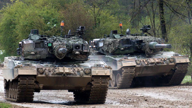 Symbolbild. Schweizer Panzer.
