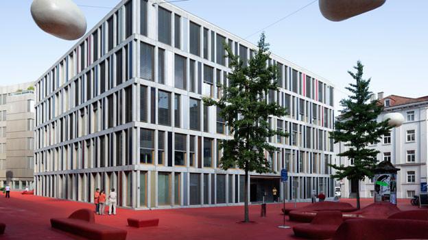 Raiffeisen-Hauptquartier in St. Gallen.