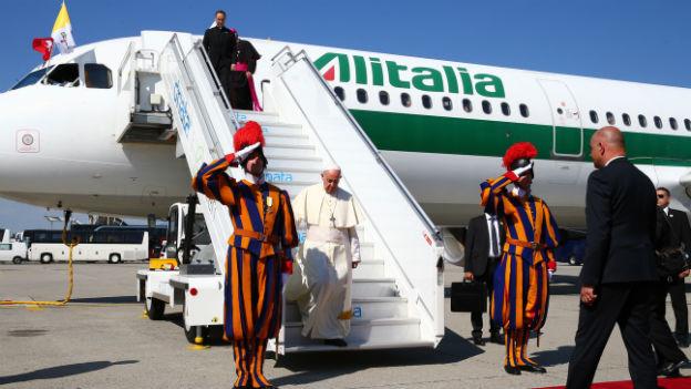 Papst trifft Bundesrat