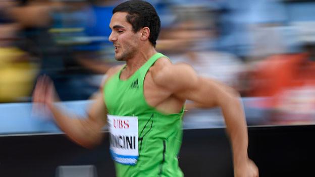 Leichtathlet Pascal Mancini.